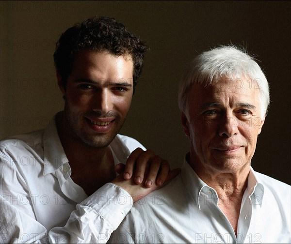 Nicolas et Guy Bedos