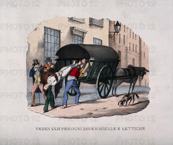 The 1832 cholera epidemic