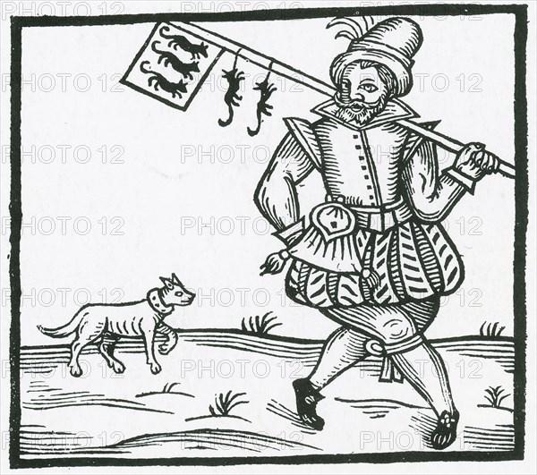 Rat Catcher, Medieval Tradesman