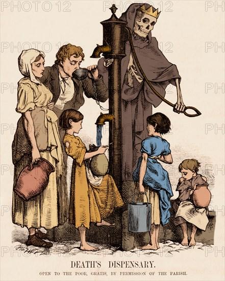 Cholera-Infected Pump, 1854