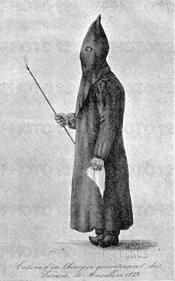 Plague doctors costume