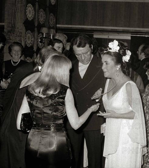 Elizabeth Taylor et Richard Burton