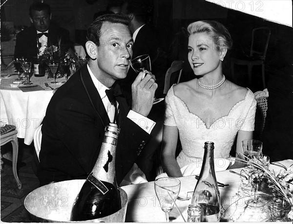 Lord White et Grace Kelly