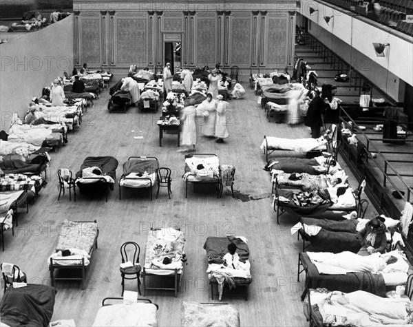 1918 Oakland Flu Hospital