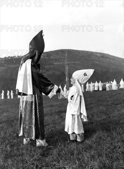 Ku Klux Klan Kids Initiation