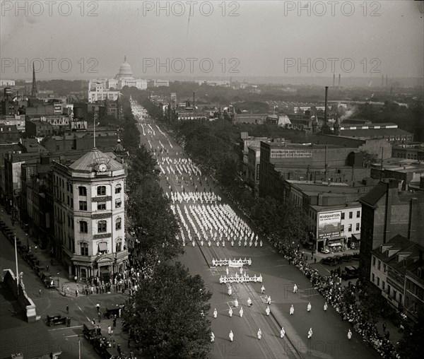 Ku Klux Klan parade, DC 1928