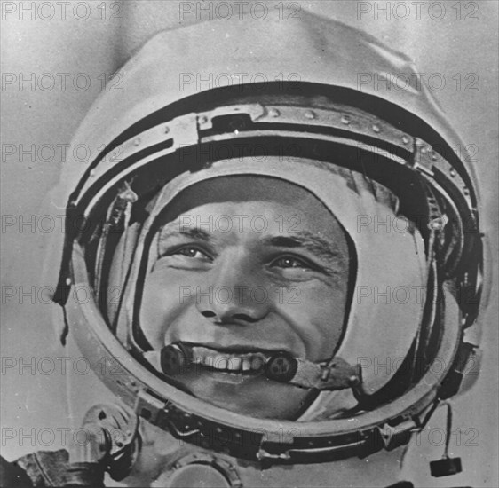 Yuri Gagarin Prior To The First-Ever Manned Space Flight